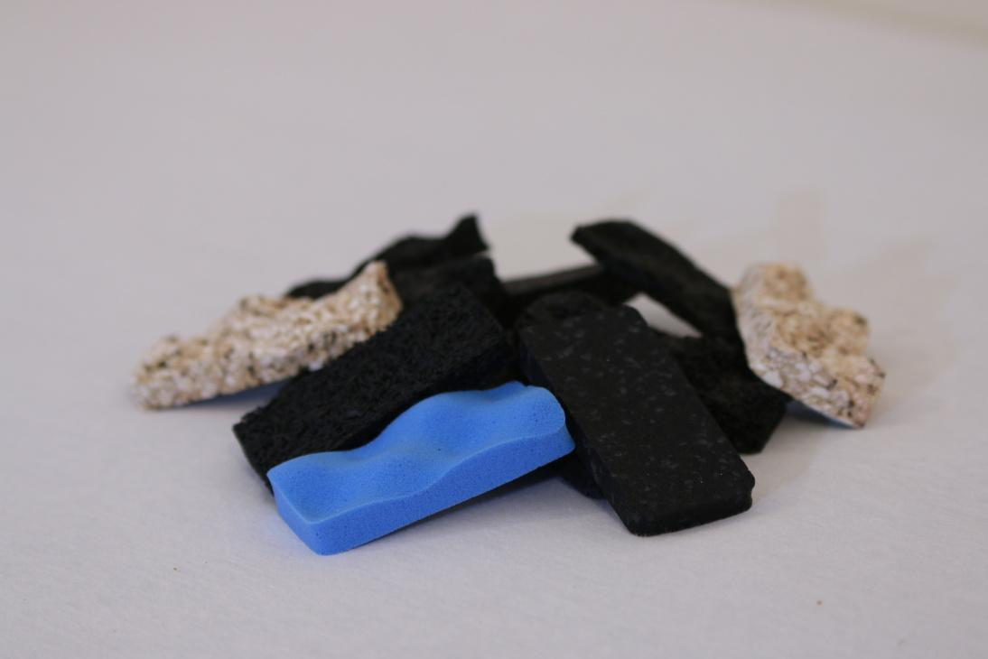 Zvuková izolace - gumy, pryže, antivibrátory