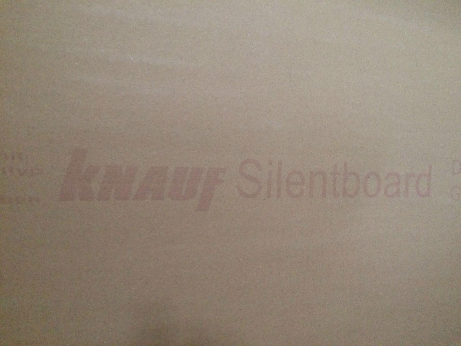 zvuková izolace - Knauf Silent board
